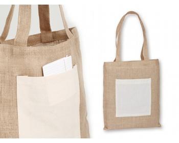Náhled produktu Jutová taška MANISHA - přírodní