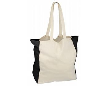 Náhled produktu Bavlněná nákupní taška LIKO - černá