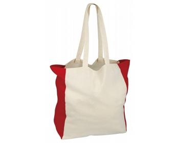 Náhled produktu Bavlněná nákupní taška LIKO - červená