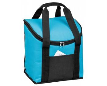 Náhled produktu Velká polyesterová termotaška KARMEL - světle modrá