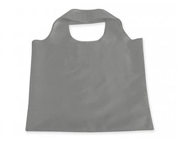 Náhled produktu Skládací polyesterová nákupní taška FOLA - šedá
