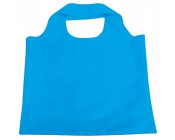 Náhled produktu Skládací polyesterová nákupní taška FOLA - světle modrá
