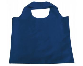 Náhled produktu Skládací polyesterová nákupní taška FOLA - modrá