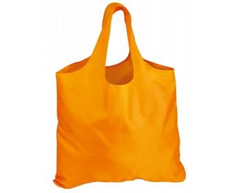 Náhled produktu Skládací polyesterová nákupní taška FOLA - oranžová