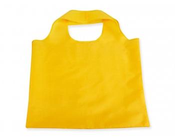 Náhled produktu Skládací polyesterová nákupní taška FOLA - žlutá