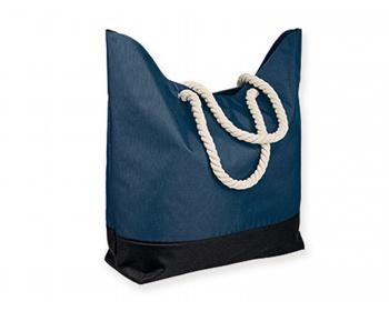 Náhled produktu Polyesterová plážová taška KENZA - modrá
