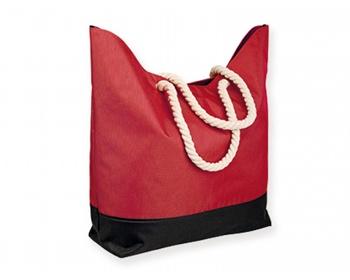 Náhled produktu Polyesterová plážová taška KENZA - červená