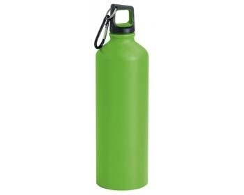 Náhled produktu Hliníková sportovní láhev SPORTY, 800ml - světle zelená