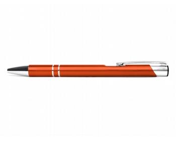 Náhled produktu AKCE: Kovové kuličkové pero LONDON - oranžová