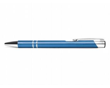 Náhled produktu AKCE: Kovové kuličkové pero LONDON - modrá