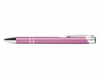 Náhled produktu AKCE: Kovové kuličkové pero LONDON - růžová