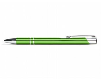 Náhled produktu AKCE: Kovové kuličkové pero LONDON - světle zelená