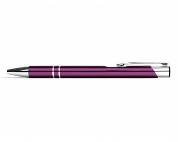 Náhled produktu AKCE: Kovové kuličkové pero LONDON - fuchsie