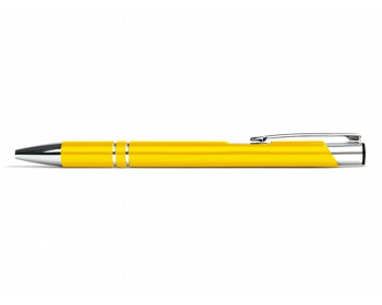 Náhled produktu AKCE: Kovové kuličkové pero LONDON - žlutá