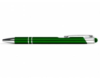 Náhled produktu AKCE: Kovové kuličkové pero LONDON TOUCH se stylusem - zelená