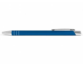 Náhled produktu AKCE: Kovové kuličkové pero MANCHESTER - modrá