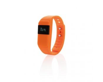 Náhled produktu Fitness náramek BRISBEN pro sledování sportovních aktivit - oranžová