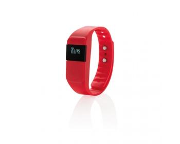 Náhled produktu Fitness náramek BRISBEN pro sledování sportovních aktivit - červená