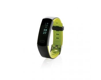 Náhled produktu Voděodolný fitness náramek PAREN s OLED displejem - zelená