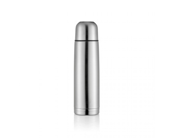 Náhled produktu Nerezová termoska BRITT, 500ml - stříbrná