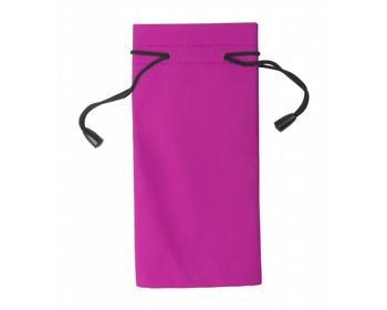 Náhled produktu Polyesterový obal na sluneční brýle MILLA - růžová / černá