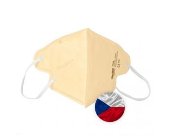 Náhled produktu Opakovaně použitelný respirátor Breasafe® Nano - velikost M - béžová