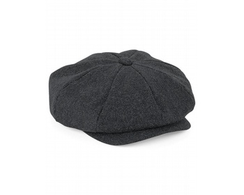 Náhled produktu Čepice Beechfield Melton Wool Baker Boy