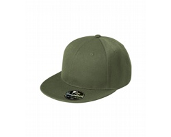 Unisexová čepice s plochým kšiltem Adler Malfini 6P RAP