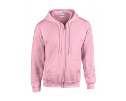 Pánská mikina Gildan Classic Fit Full Zip Hooded Sweatshirt Heavy Blend