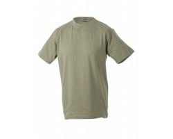 Pánské tričko James & Nicholson Round-T Heavy