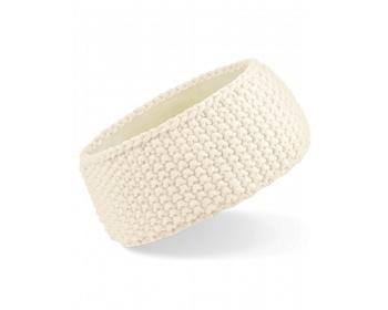 Náhled produktu Pletená čelenka Beechfield Slopeside Waffle Headband